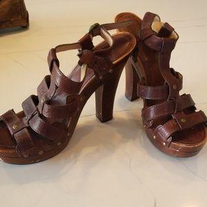 Frye heeled sandals